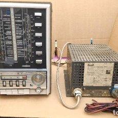 Radios antiguas: RADIO GRUNDIG Y AMPLIFICADOR A VALVULAS GRUNDIG MODELO NF2 - MUCHAS FOTOS -NO SE VENDEN POR SEPARADO. Lote 153809214