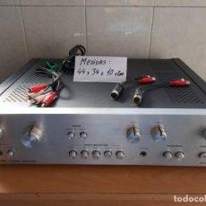 Radios antiguas: AMPLIFICADOR AMPLIFIER DUAL CV1100 RETRO & VINTAGE MADE IN GERMANY FUNCIONANDO BIEN.CALIDO Y POTENTE. Lote 154266974