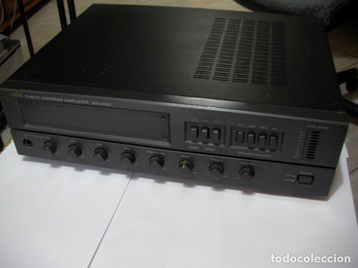 ANTIGUO AMPLIFICADOR PUBLIC ADDRESS AMPLIFIER JPA-1120 - 120 W (Radios, Gramófonos, Grabadoras y Otros - Amplificadores y Micrófonos de Válvulas)