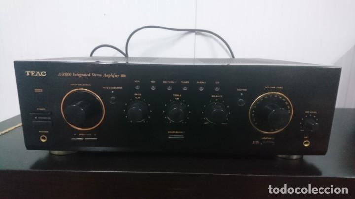 AMPLIFICADOR TEAC A-R600. FUNCIONANDO Y BUEN ESTADO COSMÉTICO. (Radios, Gramófonos, Grabadoras y Otros - Amplificadores y Micrófonos de Válvulas)