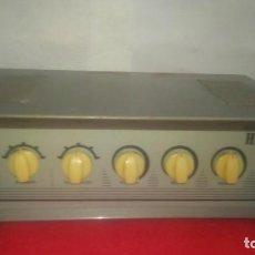 Radios antiguas: AMPLICADOR VINTAGE HIFI A VALVULAS VALVULAR AÑOS 50-60. Lote 155144714
