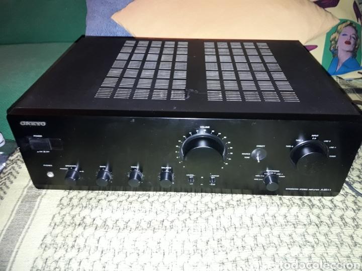 AMPLIFICADOR ONKYO A-9511. SALIDA 4 ALTAVOCES CON OPCION IMPEDENCIA. FUNCIONA (Radios, Gramófonos, Grabadoras y Otros - Amplificadores y Micrófonos de Válvulas)