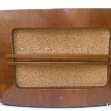 Radios antiguas: ALTAVOZ DE MADERA PHILIPS PARA RADIO DE VÁLVULAS. Lote 155241570