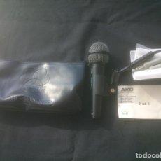 Radios antiguas: ANTIGUO MICROFONO AKG D 65 S .MICROPHONES. Lote 155398206