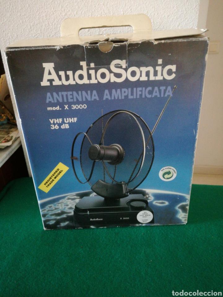ANTENA AMPLIFACORA (Radios, Gramófonos, Grabadoras y Otros - Amplificadores y Micrófonos de Válvulas)