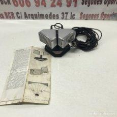 Radios antiguas: ANTIGUO MICRÓFONO ETÉREO, PHILIPS STEREO. Lote 155830260