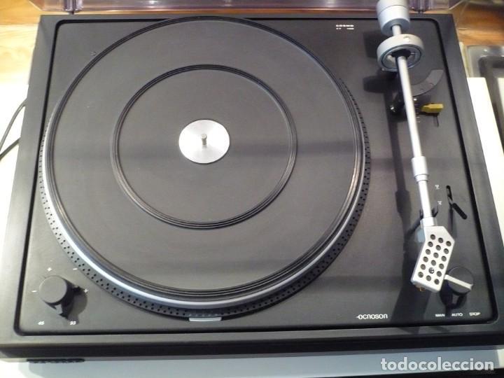 Radios antiguas: PLATO OCNOSON COSMO INTERNATIONAL HI-FI FUNCIONANDO PERFECTAMENTE. AUTOMÁTICO O MANUAL - Foto 4 - 179054900