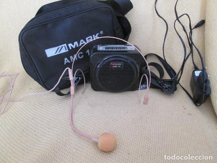 MARK AMC 15 AMPLIFICADOR ULTRAPORTATIL (Radios, Gramófonos, Grabadoras y Otros - Amplificadores y Micrófonos de Válvulas)
