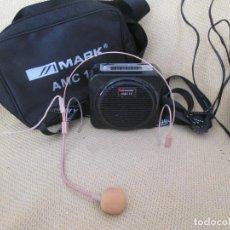 Radios antiguas: MARK AMC 15 AMPLIFICADOR ULTRAPORTATIL. Lote 157029666