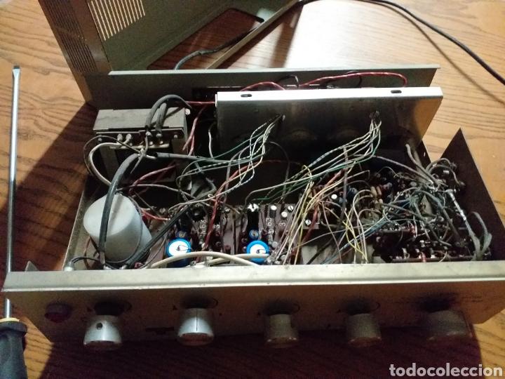 Radios antiguas: Antiguo amplificador stereo transistor - Foto 8 - 149708862