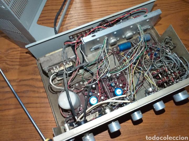 Radios antiguas: Antiguo amplificador stereo transistor - Foto 9 - 149708862