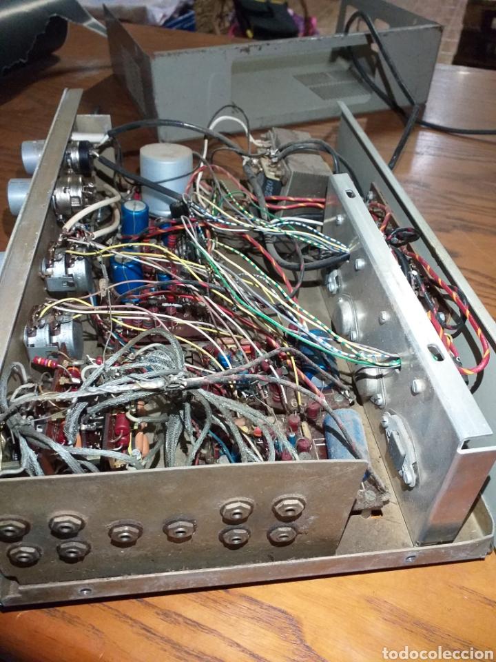 Radios antiguas: Antiguo amplificador stereo transistor - Foto 11 - 149708862