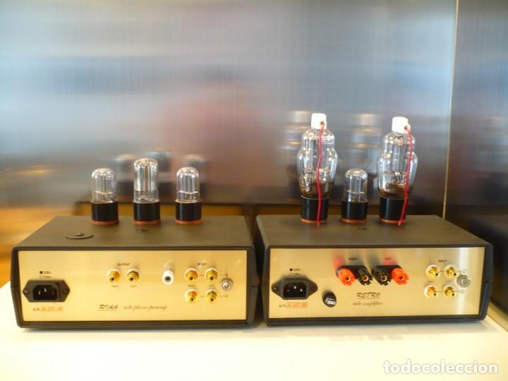 Radios antiguas: AMPLIFICADOR DE VALVULAS SINGLE ENDED -RETRO- ASOMBROSA CALIDAD DE SONIDO HI-END - Foto 3 - 96547035