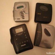Radios antiguas: WALKMAN LOTE. Lote 170463104