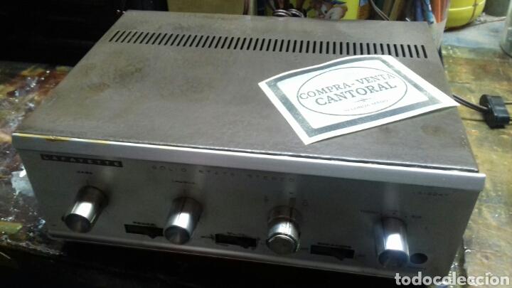 AMPLIFICADOR. LAFAYETTE LA-224T. SIN PROBAR. (Radios, Gramófonos, Grabadoras y Otros - Amplificadores y Micrófonos de Válvulas)