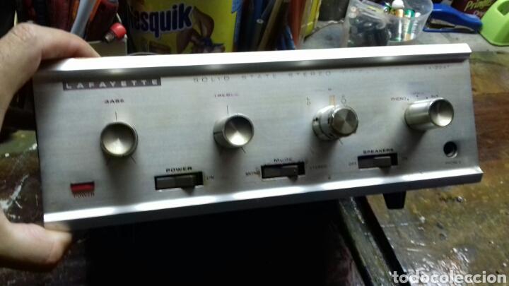 Radios antiguas: Amplificador. Lafayette LA-224T. Sin probar. - Foto 3 - 170530717