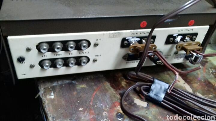 Radios antiguas: Amplificador. Lafayette LA-224T. Sin probar. - Foto 4 - 170530717