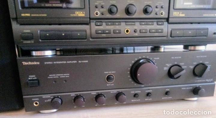 AMPLIFICADOR TECHNICS SU-VX500 // FUNCIONA// (Radios, Gramófonos, Grabadoras y Otros - Amplificadores y Micrófonos de Válvulas)