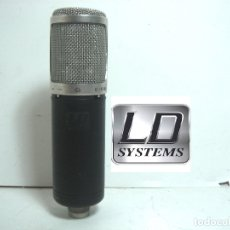 Radios antiguas: MICROFONO ESTUDIO LD SYSTEMS D1122- MICRO D-1122 - PRO LIVE . Lote 172678954
