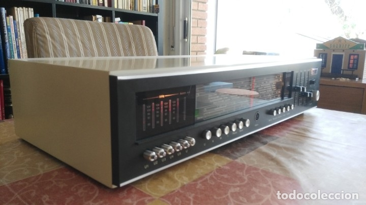 Radios antiguas: Amplificador RECEIVER SABA HIFI STUDIO 8050 VINTAGE - Foto 3 - 174376492