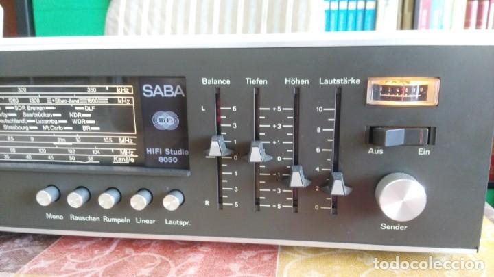 Radios antiguas: Amplificador RECEIVER SABA HIFI STUDIO 8050 VINTAGE - Foto 4 - 174376492