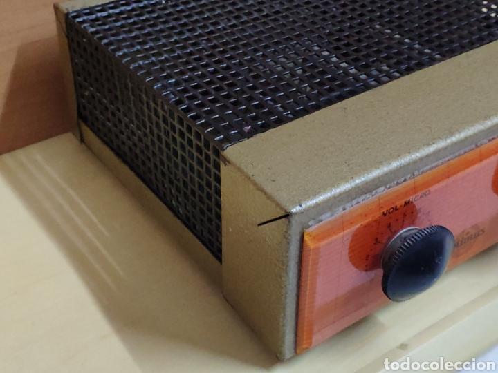Radios antiguas: Amplificador de válvulas Optimus radio mistral modelo 515 - Foto 5 - 193745143