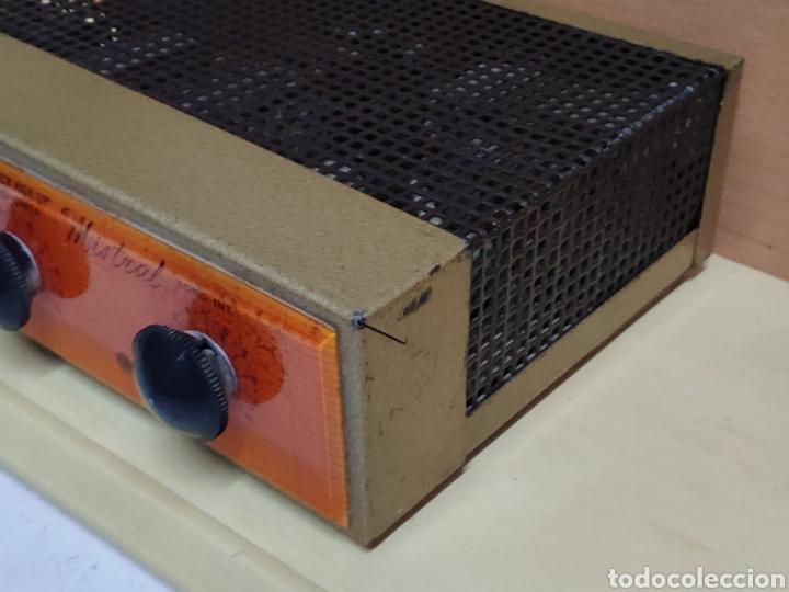 Radios antiguas: Amplificador de válvulas Optimus radio mistral modelo 515 - Foto 6 - 193745143