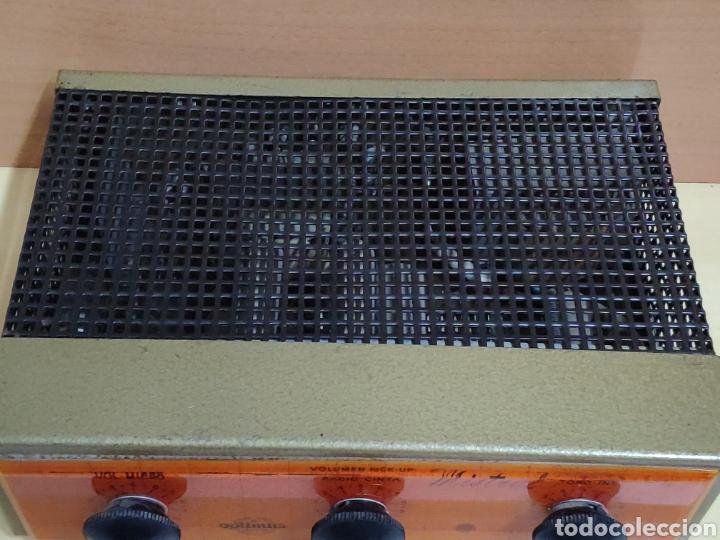 Radios antiguas: Amplificador de válvulas Optimus radio mistral modelo 515 - Foto 7 - 193745143