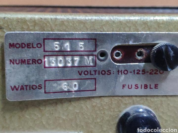 Radios antiguas: Amplificador de válvulas Optimus radio mistral modelo 515 - Foto 10 - 193745143