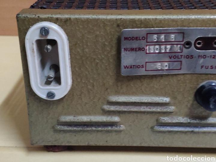 Radios antiguas: Amplificador de válvulas Optimus radio mistral modelo 515 - Foto 11 - 193745143