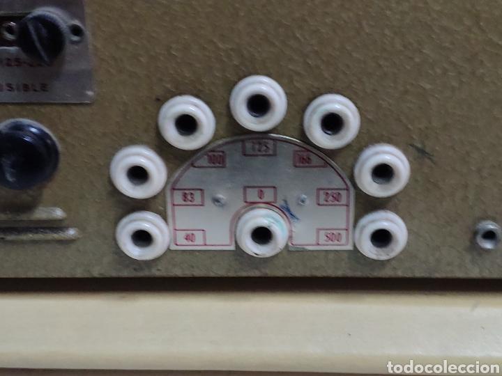Radios antiguas: Amplificador de válvulas Optimus radio mistral modelo 515 - Foto 12 - 193745143