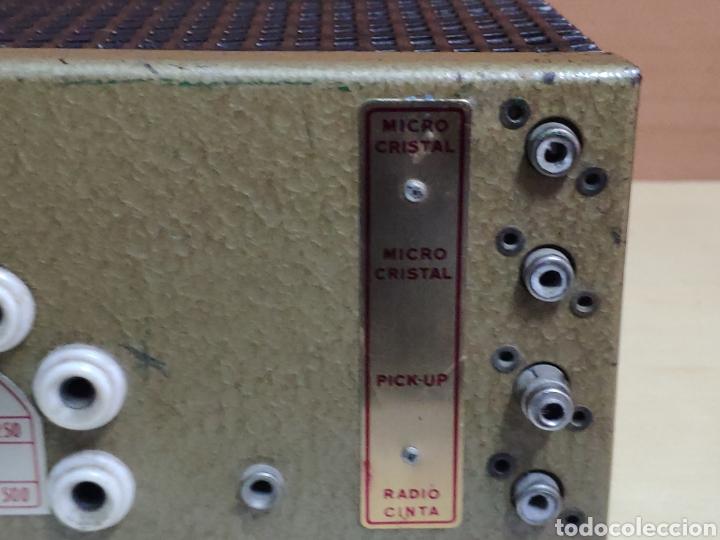 Radios antiguas: Amplificador de válvulas Optimus radio mistral modelo 515 - Foto 13 - 193745143