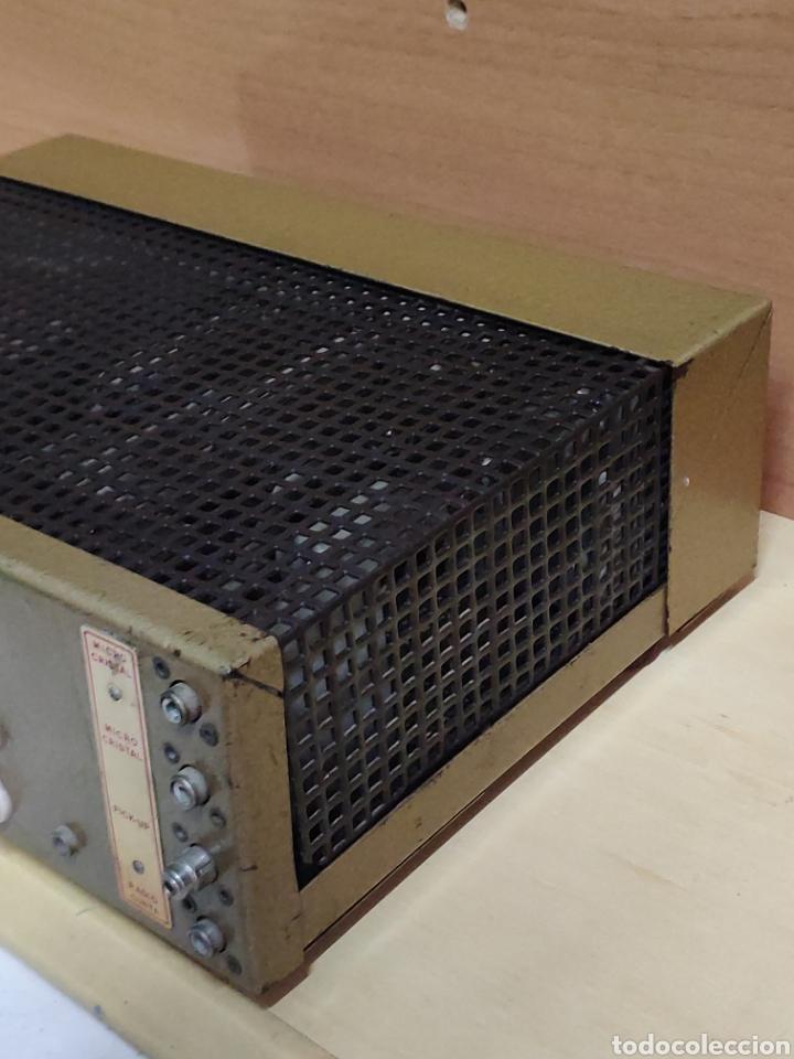 Radios antiguas: Amplificador de válvulas Optimus radio mistral modelo 515 - Foto 14 - 193745143