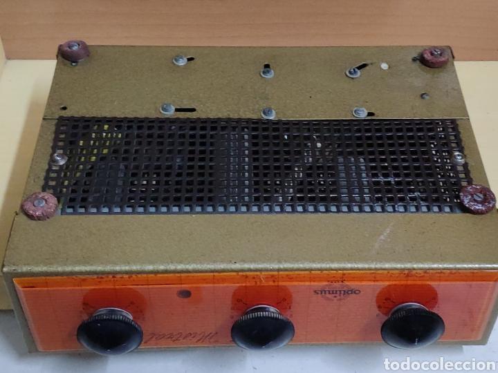 Radios antiguas: Amplificador de válvulas Optimus radio mistral modelo 515 - Foto 17 - 193745143