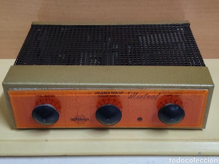 AMPLIFICADOR DE VÁLVULAS OPTIMUS RADIO MISTRAL MODELO 515 (Radios, Gramófonos, Grabadoras y Otros - Amplificadores y Micrófonos de Válvulas)