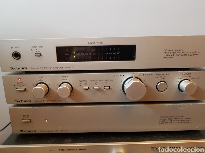 Radios antiguas: Equipo hifi technics - Foto 2 - 194368120