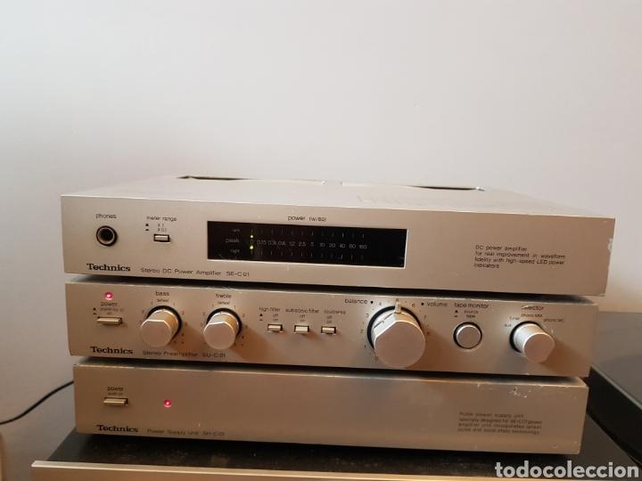 EQUIPO HIFI TECHNICS (Radios, Gramófonos, Grabadoras y Otros - Amplificadores y Micrófonos de Válvulas)