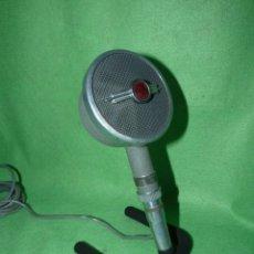 Radios antiguas: RARISIMO MICROFONO PHILIPS DYNAMIC MODELO 9549 PRECIOSO TODO METAL AÑOS 40 CLASICO COLECCION. Lote 175354805