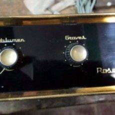 Radios antiguas: AMPLIFICADOR ROSELSON STEREO HI FI A VALVULAS ANTIGUO, PRINCIPIOS S XX. Lote 175978260