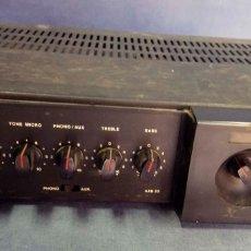 Radios antiguas: AMPLIFICADOR DE MEGAFONÍA OPTIMUS AXB-25. Lote 176005100
