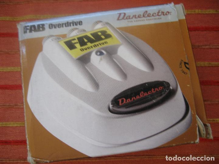 PEDAL FAB DANELECTRO-MIRAMOS OFERTAS (Radios, Gramófonos, Grabadoras y Otros - Amplificadores y Micrófonos de Válvulas)