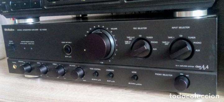 Radios antiguas: Amplificador Technics SU-VX500 // FUNCIONA// - Foto 3 - 171409043