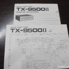 Radios antiguas: MANUAL DEL TUNER HIFI **PIONEER TX.9500 II**. Lote 177607373