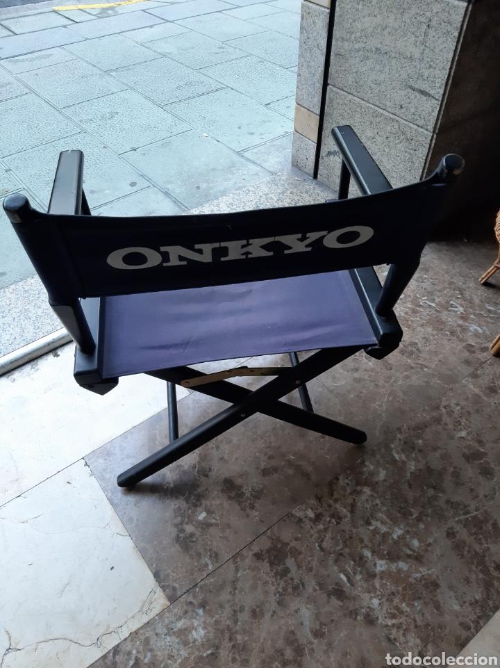 Radios antiguas: Onkyo equipos musicales años 80 silla vintage años 80 pleglable - Foto 2 - 178404043