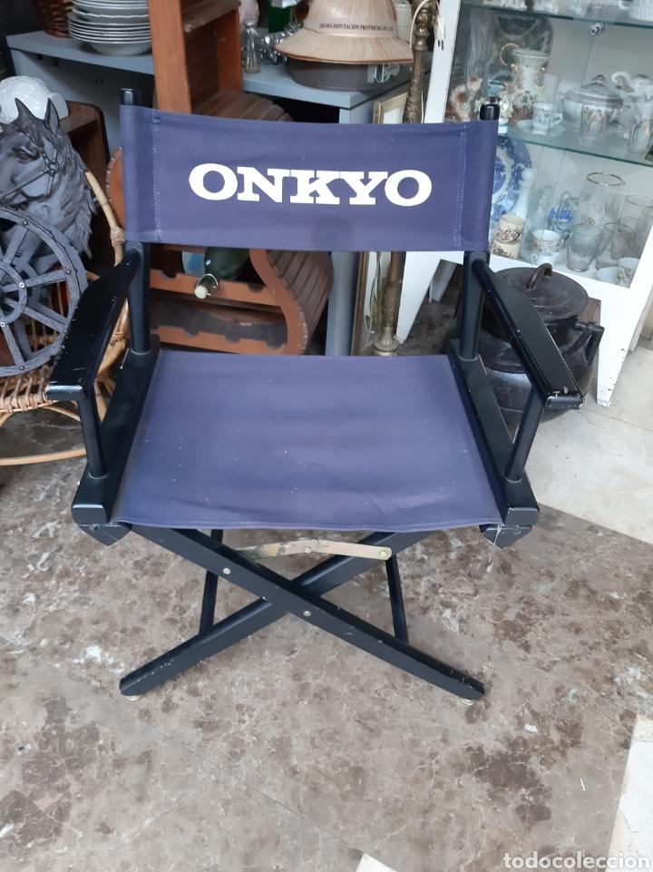 ONKYO EQUIPOS MUSICALES AÑOS 80 SILLA VINTAGE AÑOS 80 PLEGLABLE (Radios, Gramófonos, Grabadoras y Otros - Amplificadores y Micrófonos de Válvulas)