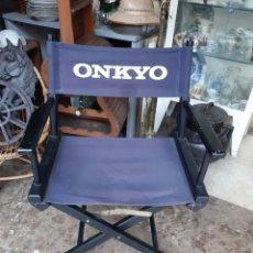 Radios antiguas: ONKYO EQUIPOS MUSICALES AÑOS 80 SILLA VINTAGE AÑOS 80 PLEGLABLE. Lote 178404043