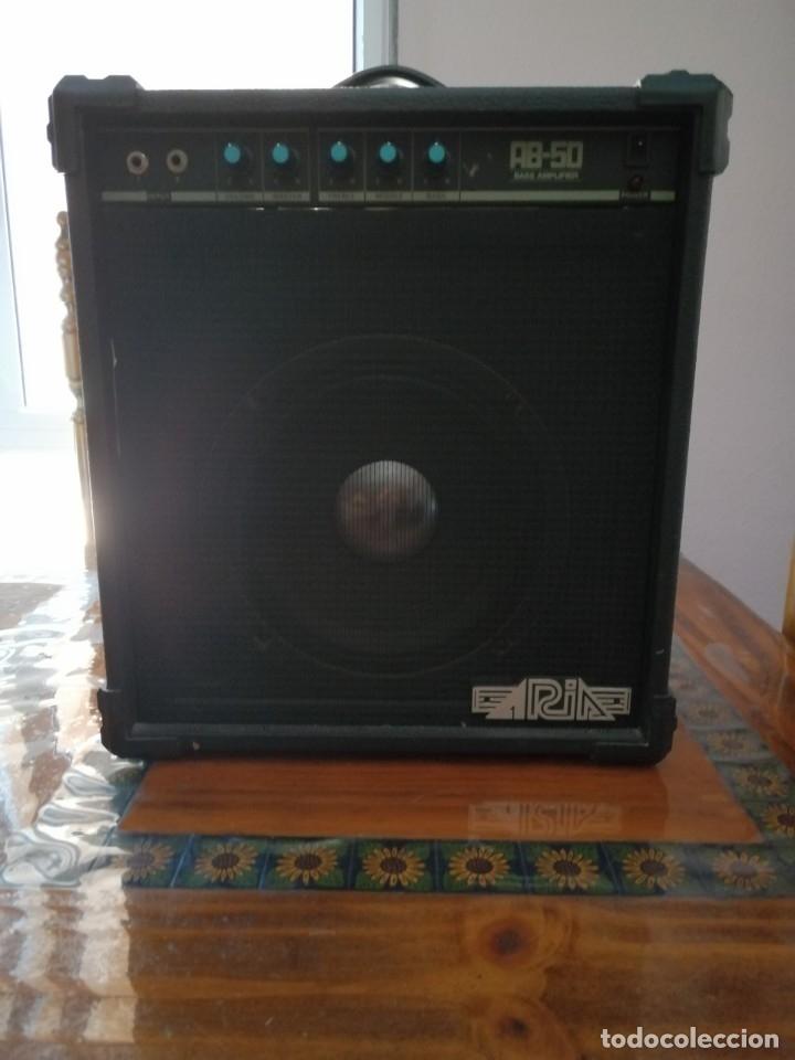 AMPLIFICADOR ARIA AB-50 80W. (Radios, Gramófonos, Grabadoras y Otros - Amplificadores y Micrófonos de Válvulas)