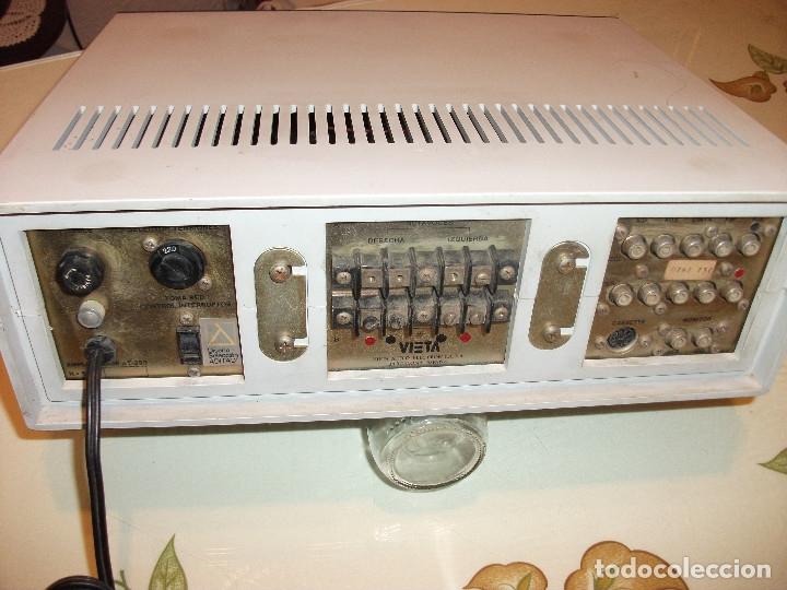 Radios antiguas: VIETA AMPLIFICADOR MODELO **UNO** VINTAG - Foto 2 - 180024075