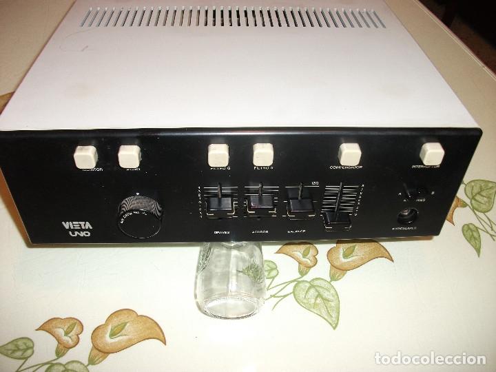 Radios antiguas: VIETA AMPLIFICADOR MODELO **UNO** VINTAG - Foto 3 - 180024075