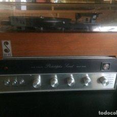 Radios antiguas: TOCADISCOS CON AMPLIFICADOR. AÑOS 1970 APROX.. Lote 180074003